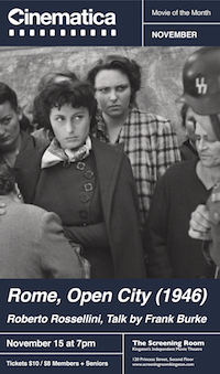 Frank Burke On Rome Open City Bicycle Thieves And Their
