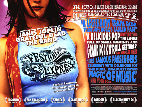 Skeleton Park Arts Festival: Festival Express (2003) – The